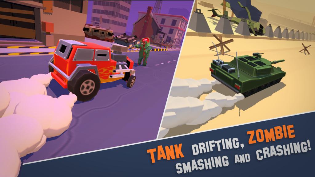 TankDrift-ZombieCrash